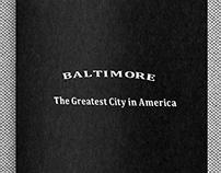 rso196, Baltimore, the greatest city in America (book)