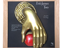 BOB JAMES / TWO 2.5D -VINYL COVER WALLART-