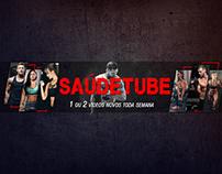 Capa YouTube - Saúdetube