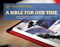 The Saint John's Bible exhibit panels