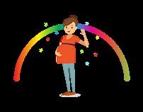Illustrations - Pregnancy