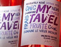 «My Tavel» Wine Label