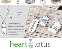 Banyan & Finch Client Heart and Lotus Sell Sheet