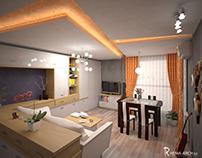 Sunny sky apartment