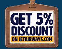 Get 5% Discount - JetPrivilege