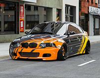 BMW E46 Widebody