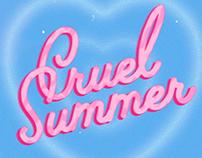 Cruel Summer, a swiftie AR.