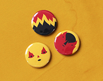 Button Badge Design
