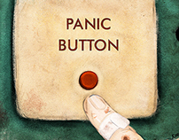 PANIC BUTTON! -illustration editorial 2015