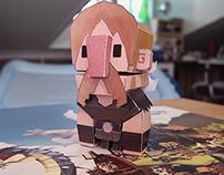 Viking Life Paper Toys