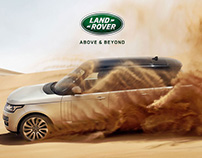 Land Rover - Landing Page
