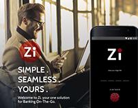 Zi Banking app (Concept)