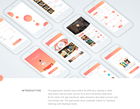 UI/UX design Restaurant Application for Customers