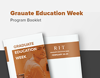 Program Booklet - Grad Education Week