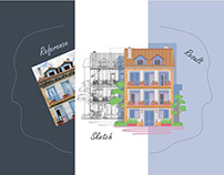 Architecture rendering (drawing)
