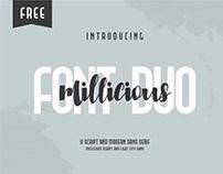 FREE SCRIPT FONT - Millicious