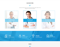Medico Tree PSD Template