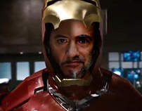 Iron Man Character Replacement