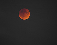 The blood moon eclipse 9-27-15