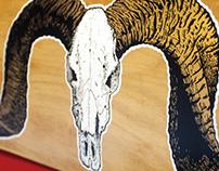 SKATE | goat skull