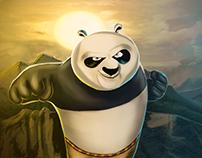 Digital Art - Kung Fu Panda