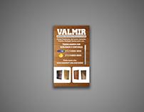 Cartão de Visita Valmir - Marceneiro e montador