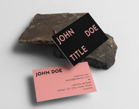 Free Business Card Collection #3