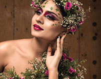 Wildflower project - Deepika das celebrity Photoshoot