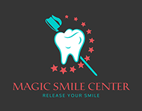 MAGIC SMILE DENTAL CLINIC LOGO