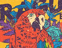 LA FRAGUA BAND - US Tour Poster