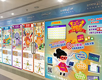 Character Shopfront Design / HWF, EXF and Monsters