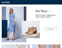 Aldo Resellers - Wireframe mock up