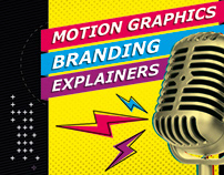 [Motion graphics] [Branding] [Explainers]