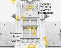 Bibliothèque Forney - Branding