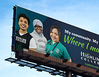 Highline College - Billboard
