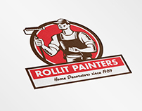 Rollit Painters and Home Decorators Logo
