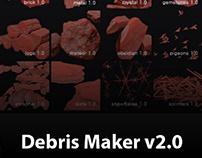 Debris Maker v2.0 | Useful script for 3dsMax