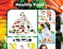 Healty Food Poster