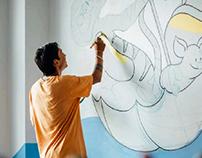 Mural at Teaching Hospital