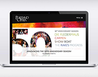 The Portland Opera Website Design