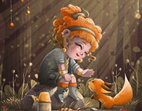 CHARACTER DESIGN AND ILLUSTRATIONS for CHILDREN BOOK