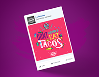 La Taquisa, social media
