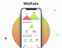 Walkato - Fitness Health Maintenance App