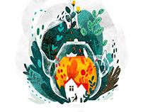 Autumn illustration part 1