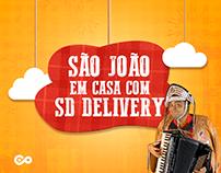 Campanha - São João em Casa com SD Delivery