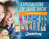 Jadefrog magazine ads