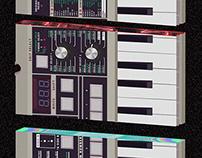 micro KORG synthesizer / vocoder