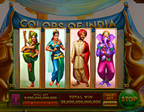 Colors of India Slots