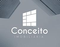 Conceito Imobiliária. Logo Design