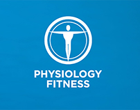 Physiology Fitness Logo and Visual Identity